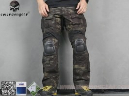 G3 Combat Pants-Advanced Version 2017 - Multicam Black [EmersonGear]