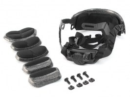 Dial Liner Kit for FAST, MICH helmets, black [EmersonGear]