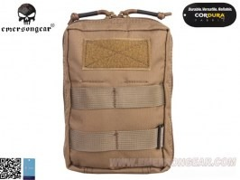 Molle 18*12.5*7cm Utility Pouch - Coyote Brown (CB) [EmersonGear]
