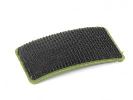 PVC 3D Blood type velcro patch 0+  - OD color [EmersonGear]