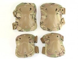 Tactical elbow and knee pad set - Multicam [EmersonGear]