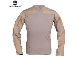 Talos LT Halfshell style combat T-Shirt - Coyote Brown (CB)
