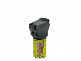 Pepper spray TORNADO Police with flashlight - 40ml [ESP]