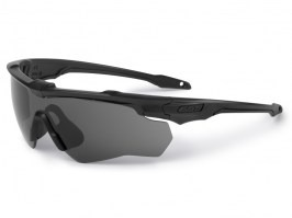 CrossBlade 2LS glasses with ballistic resistance - clear, grey [ESS]