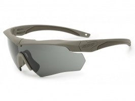 Crossbow ONE glasses with ballistic resistance TAN - gray [ESS]