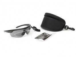 Crosshair-2LS glasses with ballistic resistance - clear, grey