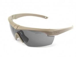 Crosshair- 3LS TAN glasses with ballistic resistance - clear, grey, yellow