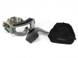 Goggles Land Ops with ballistic resistance, FG - clear, gray
