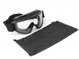 Goggles Tactical XT with ballistic resistance - clear