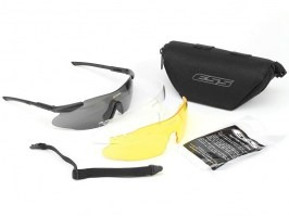 ICE-3LS glasses with ballistic resistance - clear, yellow, black