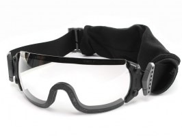 Jumpmaster goggle with ballistic resistance - clear [ESS]