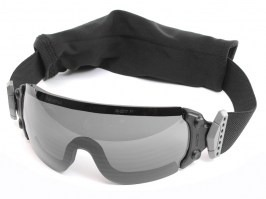 Jumpmaster goggle with ballistic resistance - smoke gray [ESS]