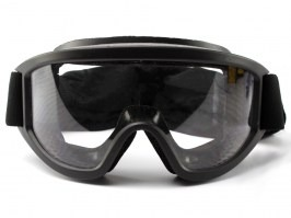 Vehicle Ops goggle with ballistic resistance, black - clear, gray [ESS]