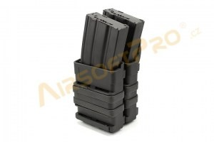 2x FastMag M4 magazine pouch - black [EmersonGear]