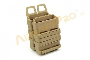 2x FastMag M4 magazine pouch - TAN [EmersonGear]
