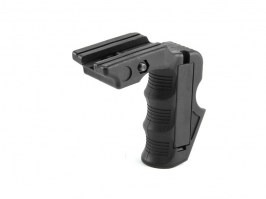 Ergonomic MagWell and grip for M4 AEG / WA M4 - BK [FMA]