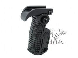 Foldable AB163 tactical grip - black [FMA]
