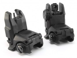 Mechanical FBUS RIS sights set GEN2 - Black [FMA]