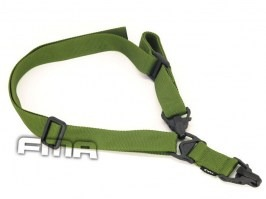 Multi-Mission MA3 single and two point sling - green [FMA]