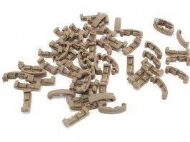 Segment index RIS cover clips, 60 pcs - DE [FMA]