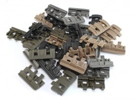 Set of 32 pieces FTM Rail panel in BK/DE/FG/OD color [FMA]