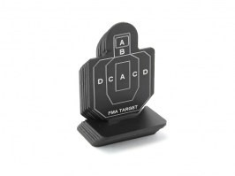 Tin practice target 4 x 6 cm, type A, pack of 6 pieces [FMA]