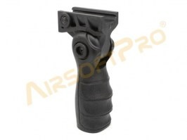 Foldable tactical grip - black [A.C.M.]