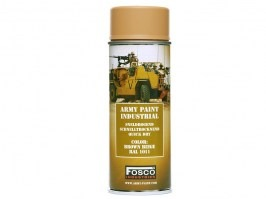 Spray army paint 400 ml. - Brown beige [Fosco]