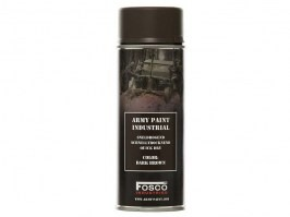 Spray army paint 400 ml. - Dark Brown [Fosco]