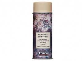 Spray army paint 400 ml - Tropentarn sand [Fosco]