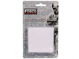 Cotton cleaning patches 25pcs [Fosco]