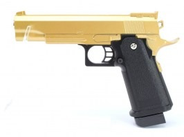Airsoft pistol G.6 full metal spring action - gold [Galaxy]
