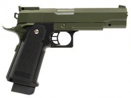 Airsoft pistol G.6 full metal spring action - olive [Galaxy]