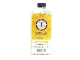 Airsoft BBs G&G 0.25g 5600pcs in bottle- white [G&G]