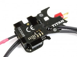 Processor trigger unit TITAN™ V2, Basic firmware -  - rear wiring [GATE]