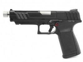 Airsoft pistol GTP9, gas blowback (GBB) - black [G&G]