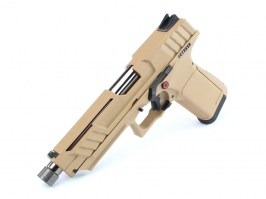 Airsoft pistol GTP9, gas blowback (GBB) - desert [G&G]