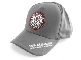 G&G sports cap - grey [G&G]