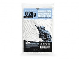 Airsoft BBs Guarder BIO 0,20g, 5000pcs - white [Guarder]