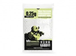 Bullets Guarder 0,25g , 4000 ks - BIO - white [Guarder]