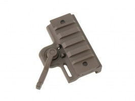 Short quick-mount RIS mount for red dots - TAN [JJ Airsoft]