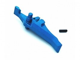 CNC speed trigger for M4 / M16 - blue [JeffTron]
