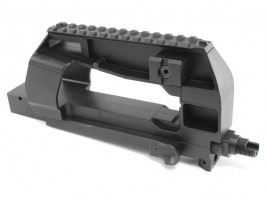 P90 (P98) metal receiver with the upper RIS rail [JG]