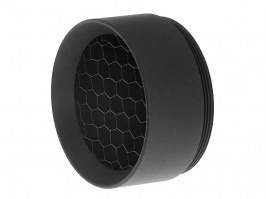 Kill Flash for riflescopes with lens diameter 24mm (tube 30mm) - black [JJ Airsoft]