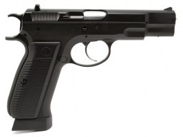 Airsoft pistol KP-09 CZ75 - CO2 blowback, full metal - version 2 [KJ Works]