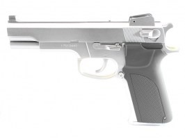 Airsoft pistol M4505, manual - silver