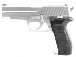Airsoft pistol 226 spring action pistol - silver