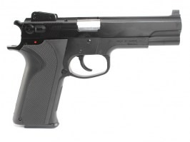 Airsoft pistol M4505, manual - black [KWC]