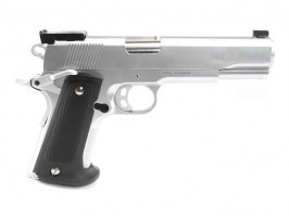 Match 1911 spring action pistol - silver [KWC]