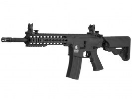 Airsoft rifle M4 KEYMOD 10' Sportline (LT-19 Gen.2) - black [Lancer Tactical]